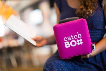 Летающий микрофон Catchbox