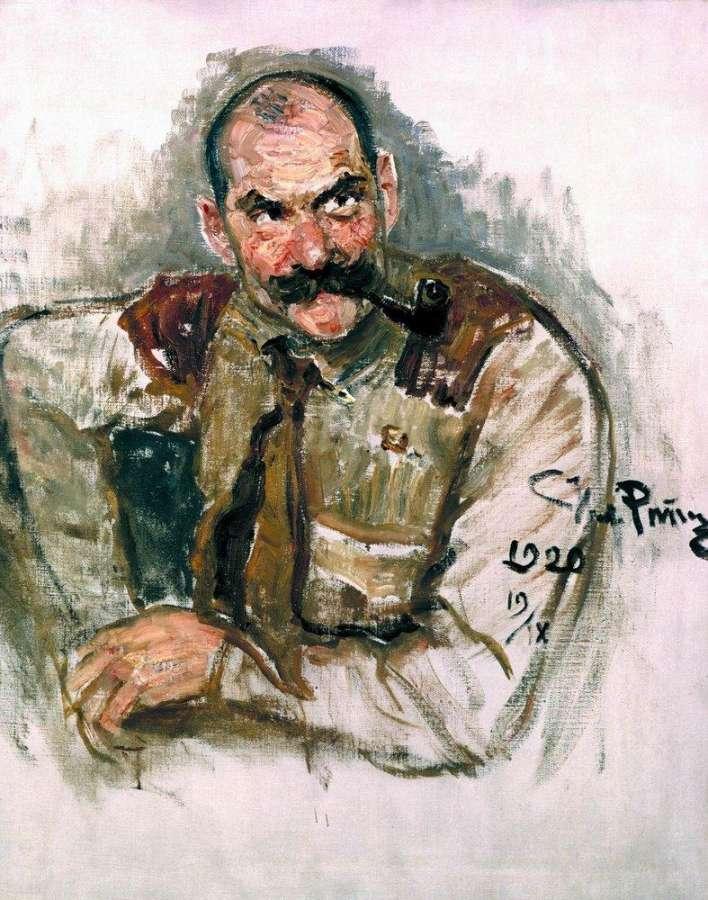 Gallen-Kallela-Repin-portrait-1920